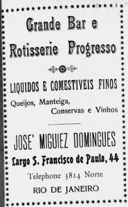Propaganda no Jornal das Moças em Junho de 1923