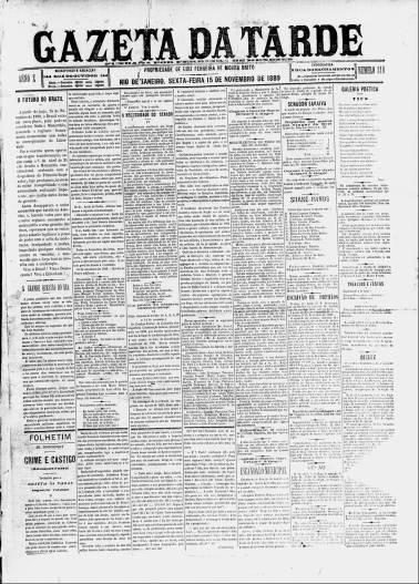 gazeta-da-tarde-xv-de-novembro
